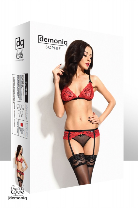 SOPHIE - red set - sizes: S,M,L