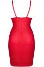 Demoniq czerwona sukienka CADRED004